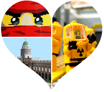 Irish LEGO User Group LUG Ireland Northern Ireland heart