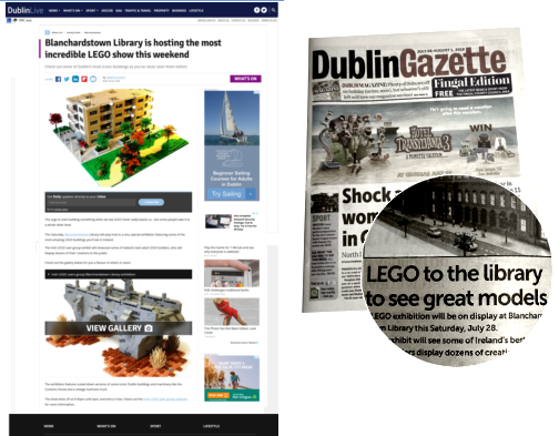 Lug.ie Irish LEGO Club